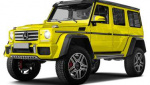 Mercedes-Benz G550 4x4 Squared rims and wheels photo