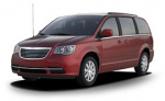Chrysler Town & Country rims and wheels photo