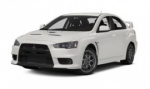 Mitsubishi Lancer Evolution rims and wheels photo